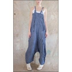 overall Evaliisa in Chambray