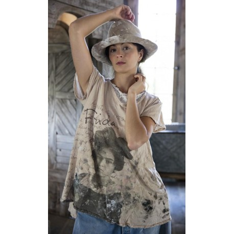 T-shirt Milagrito in Mink