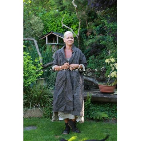 coat Cara grey striped