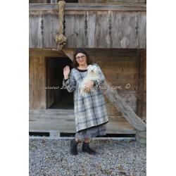 robe ROMIE voile de carreaux