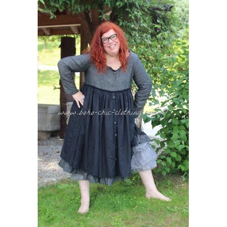 robe EDELINE lin noir