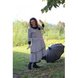 dress MARYLENE in gingham linen