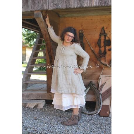 robe-tunique LUDIVINE lin ficelle