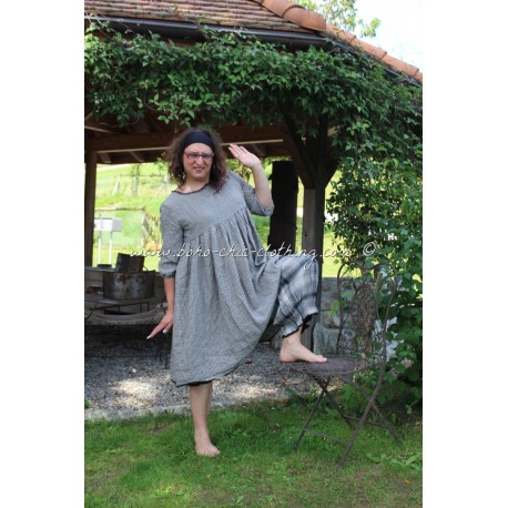 robe ROMANCE lin vichy
