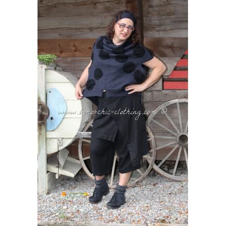 Pantalon GENSAKU noir