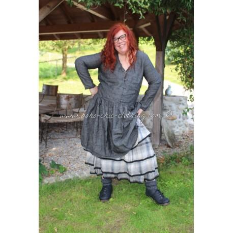 robe BELLE lin noir