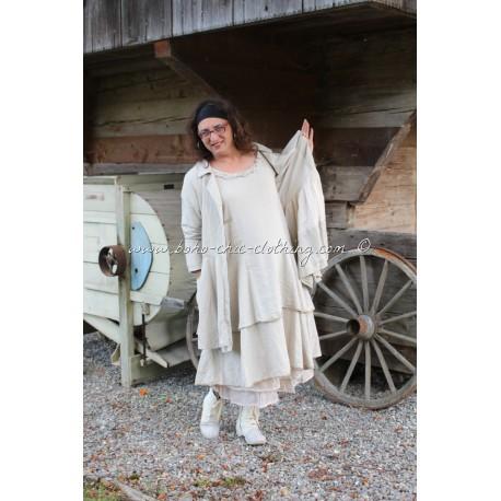 robe MARYLENE lin écru
