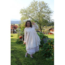 robe JOSEPHINE flanelle petites fleurs