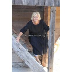 robe ROMANCE lin noir