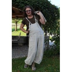 overall Evaliisa in Oatmeal