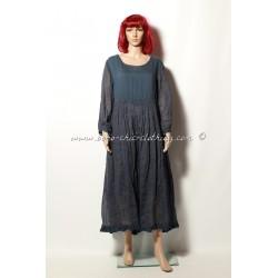 Somptueuse robe en organza EWA I WALLA bleu