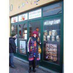 Manteau  Louise Della en laine bouillie Taille 4