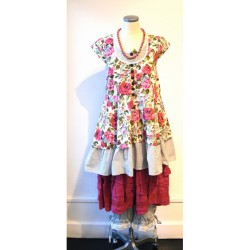 Robe LISA fleurie