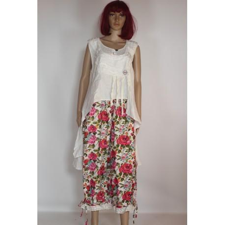 Pantalon TILDA fleuri