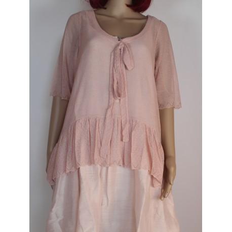 Tunic ACAÏ pink