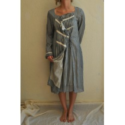 robe / veste CONSTANCE coton vichy