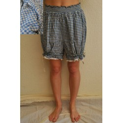 bloomers LOULOU gingham cotton