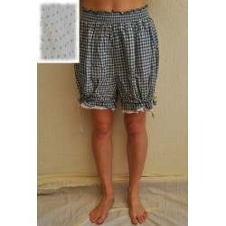 bloomers LOULOU blue dotted cotton