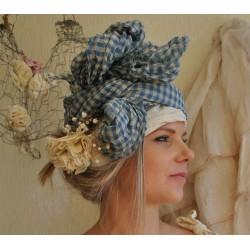 foulard PAULINE coton vichy