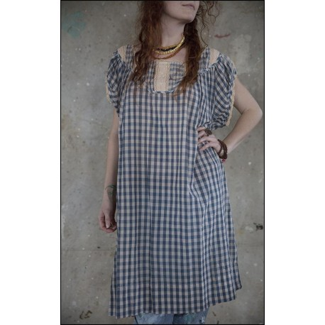robe Ottilia in Picnic Check