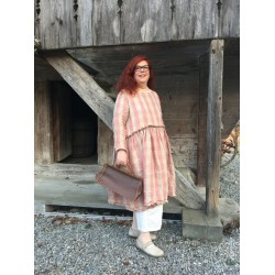 robe SANDRA lin grosses rayures