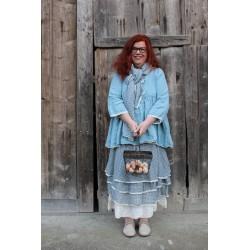 jupe / robe bustier MADELEINE coton vichy