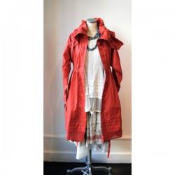 Manteau imperméable PERNILLA rouge