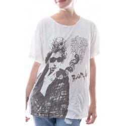 T-shirt Bard with Bob Dylan Sketch in True