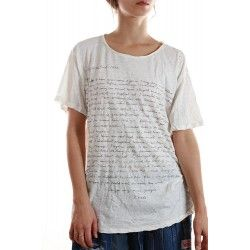 T-shirt Frida O'Keefe Letter in True