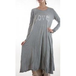 robe Love with Long Sleeves in Dove