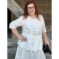 robe Cecilia blanche