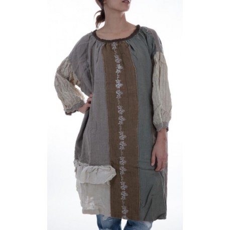 robe Malli in Natural and Eucalyptus
