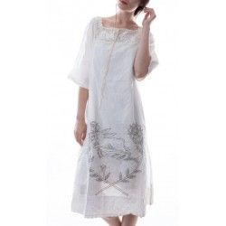 dress Bergie Rabbit in Antique White