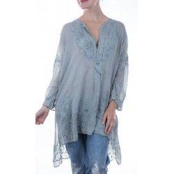 chemise Ines in Dove