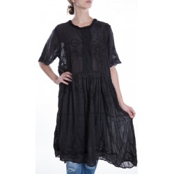 robe Hadie Mae Brown in Midnight