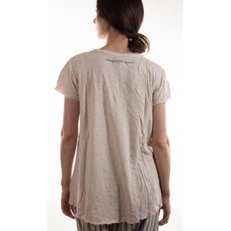 T-shirt Roarke in Mink