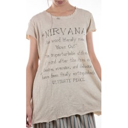 T-shirt Nirvana in Mink