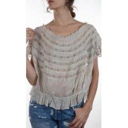 blouse Sloan in Fog