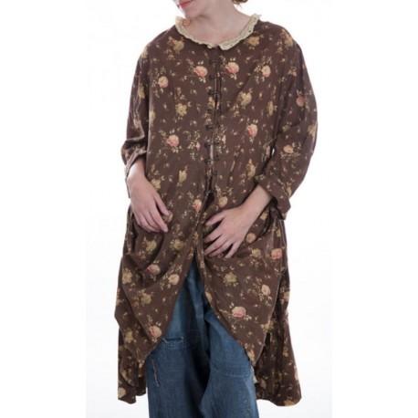frock coat Olivia Clemens chocolat