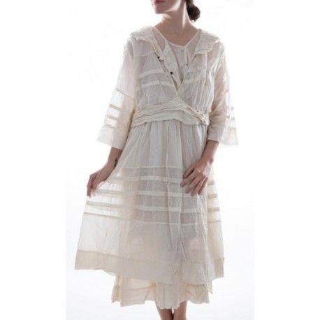 robe Braesha ivoire