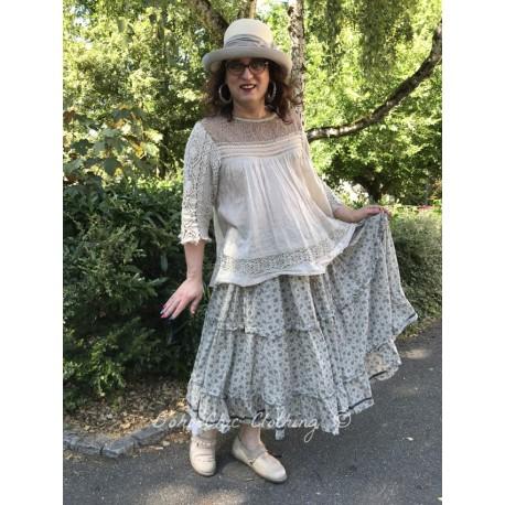 chemisier Ramie Nanette in Antique White