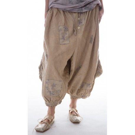 pantalon en coton  côtelé