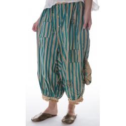 pants Drawers in Avignon Wallpaper & Blueberry Jam