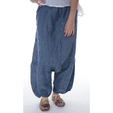 pantalon Klarah in Chambray