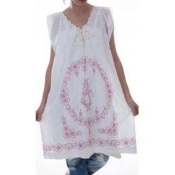 robe Sherise in White
