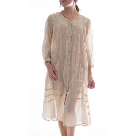 robe Poisson crème