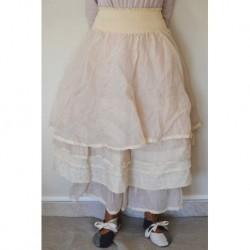 petticoat BERANGERE in pink organza