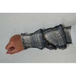 guêtres NESTOR coton voile carreau
