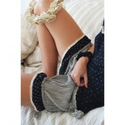 bloomers LOULOU in gingham cotton