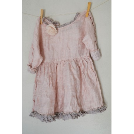 robe SUZANNE KID lin rose